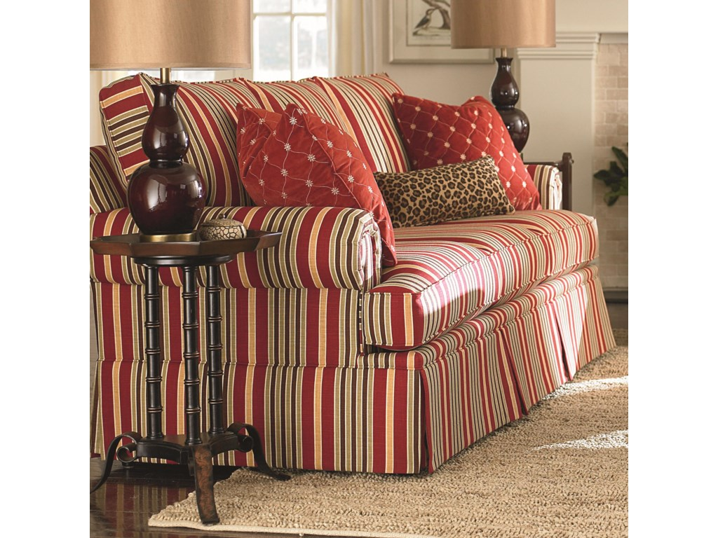 Bassett Custom Upholstery - Medium Scale<b>Custom</b> Sofa