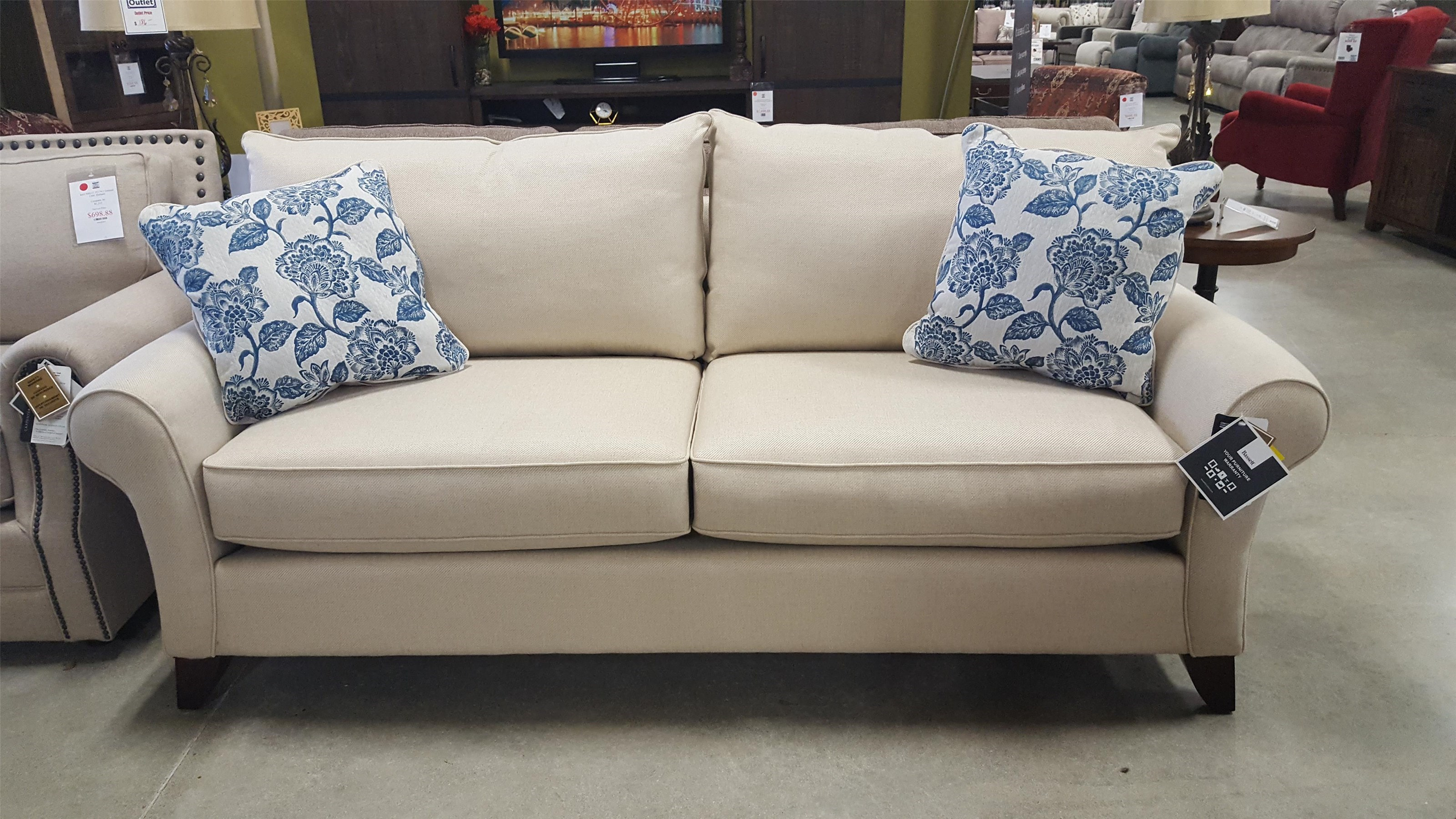 Westport Stationary Sofa By Bassett