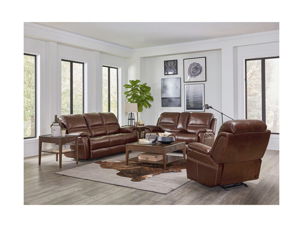 Bassett Williams - Club Level by BassettPower Reclining Living Room Group