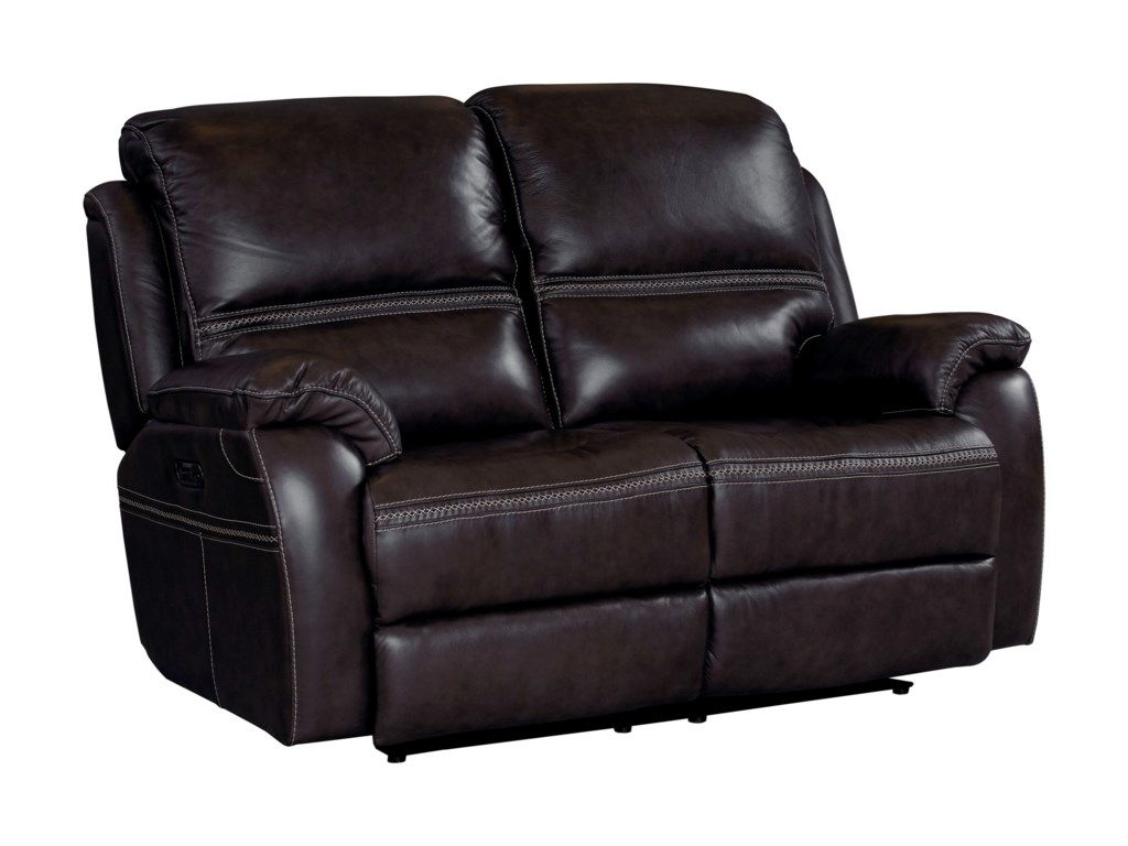 Bassett Williams - Club Level by BassettPower Reclining Loveseat