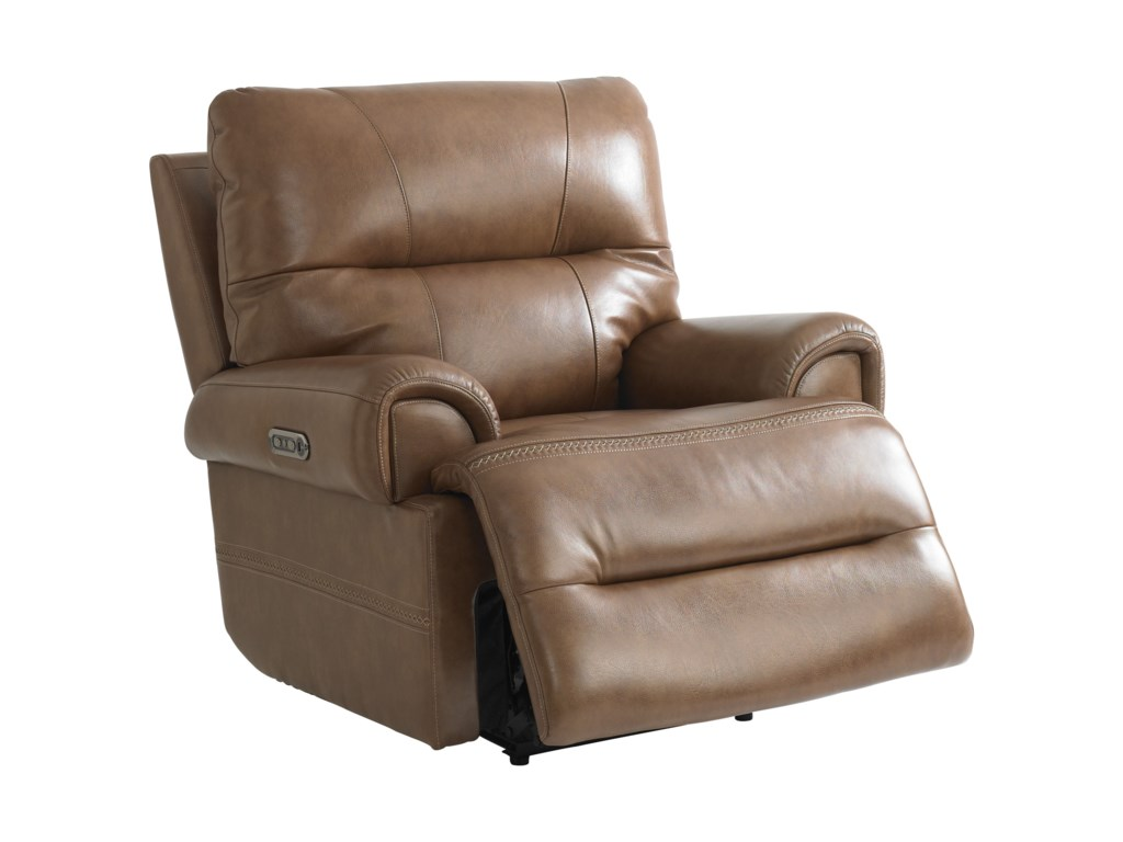 Bassett WoodsonWallsaver Recliner with Power