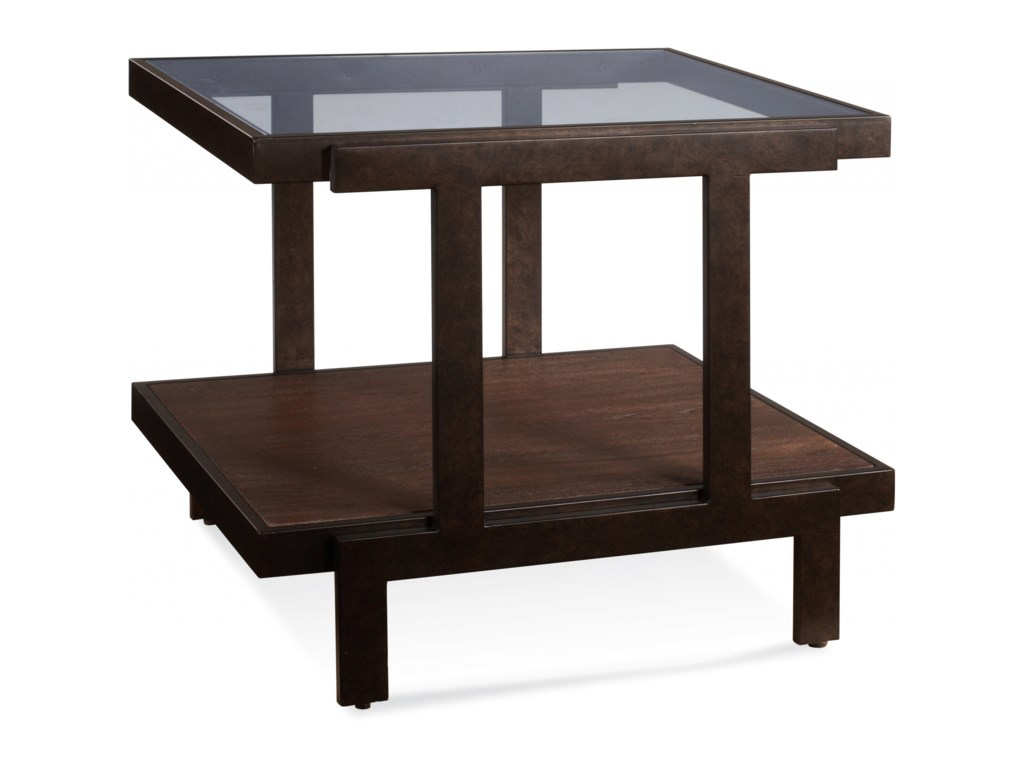 Bassett Mirror BeasleyRectangle End Table