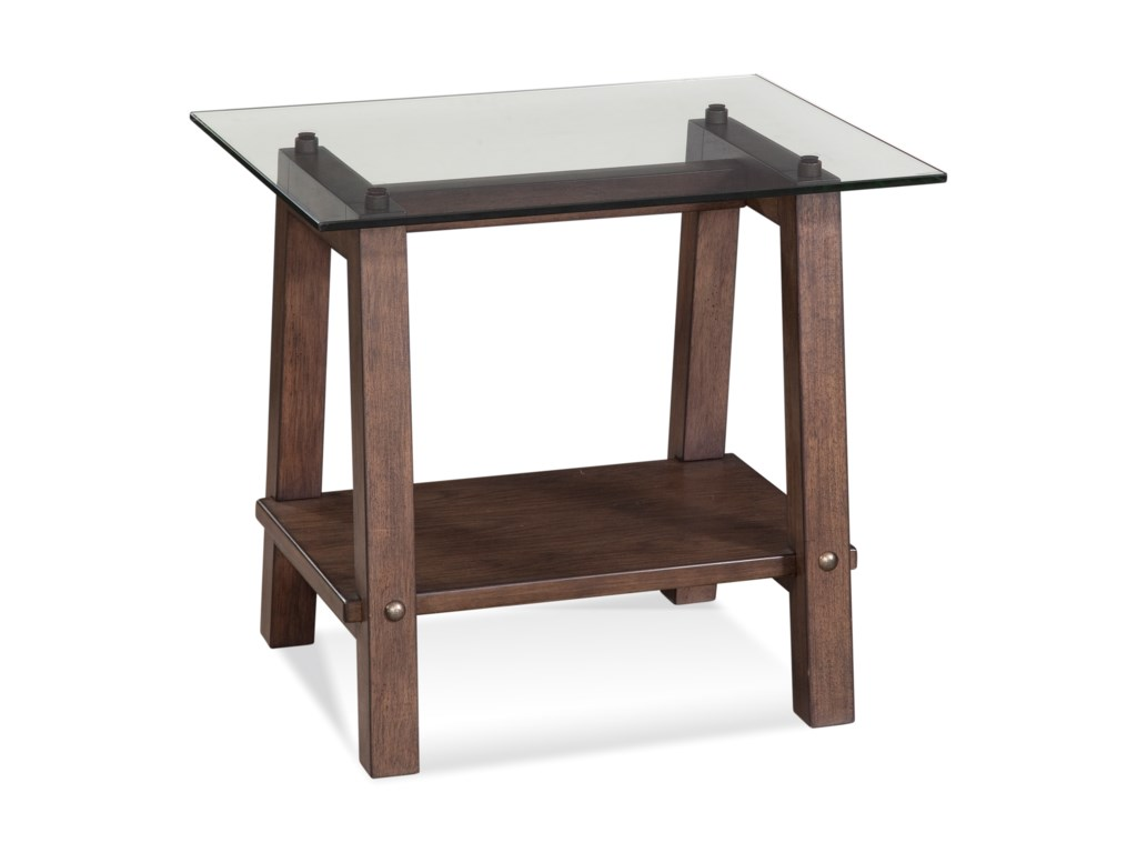 Bassett Mirror Belgian LuxeEllsworth Rectangle End Table