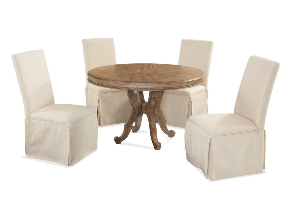 Bassett Mirror Belgian LuxeGalliano Casual Dining Set