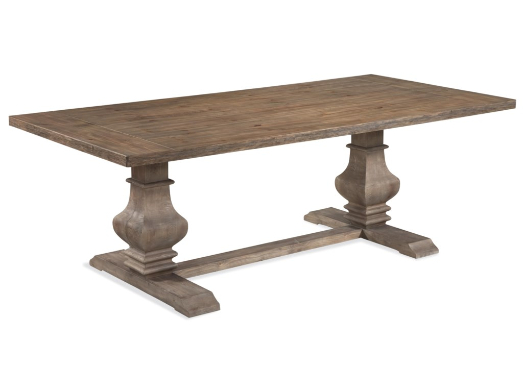 Bassett Mirror Belgian LuxeKinzie Rect Dining Table