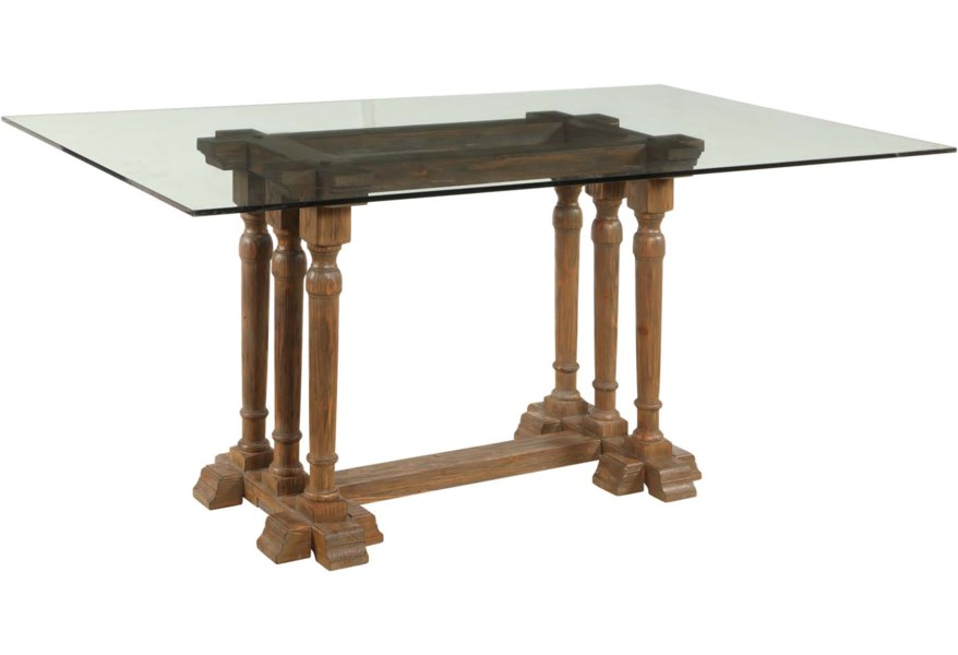 Bassett Mirror Belgian Luxe D2527 600 938 Pemberton Rect Dining Table Corner Furniture Kitchen Tables