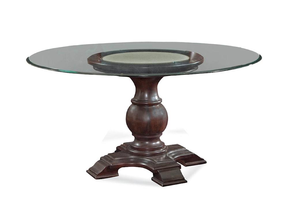 Bassett Mirror Belgian LuxeHampton Round Dining Table