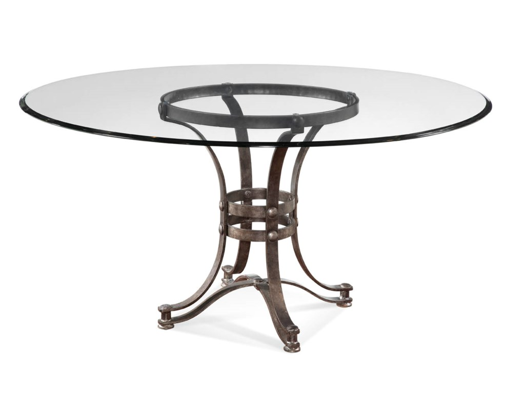 Bassett Mirror Belgian LuxeTempe Round Dining Table