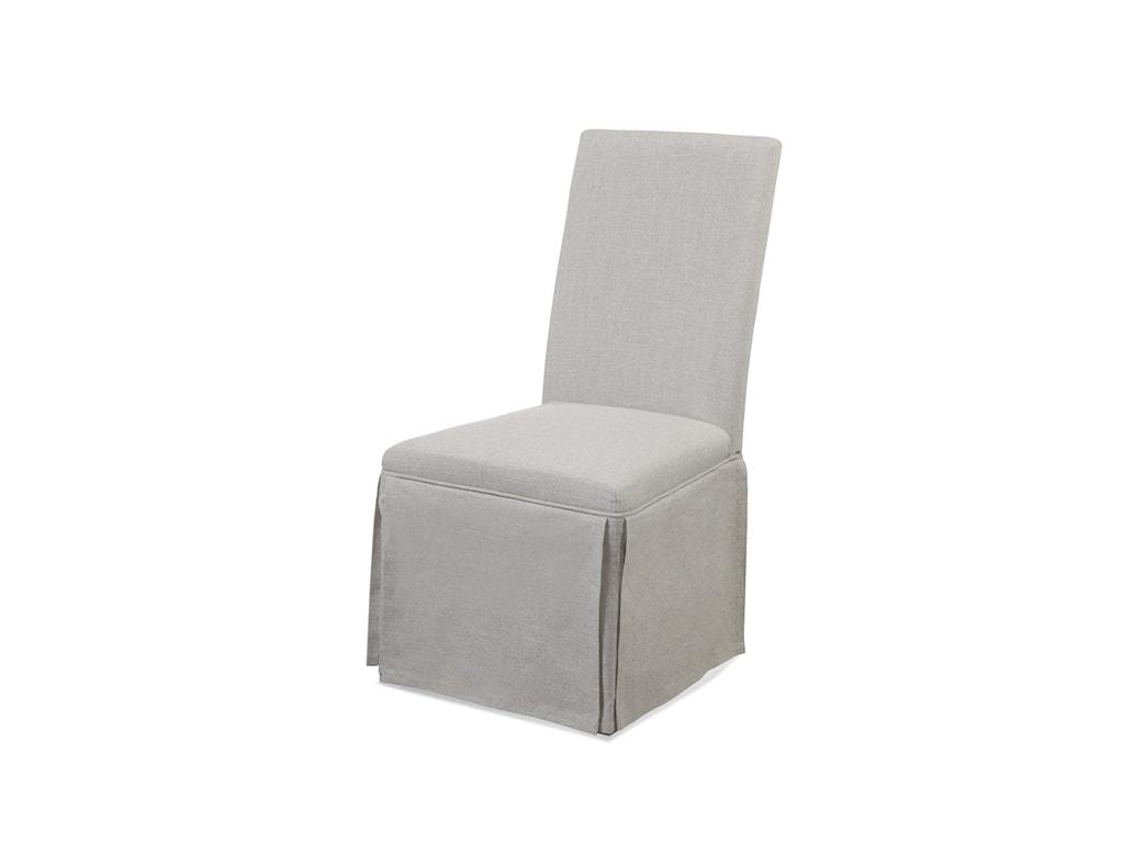 Bassett Mirror Belgian LuxeSkirted Parsons Chair