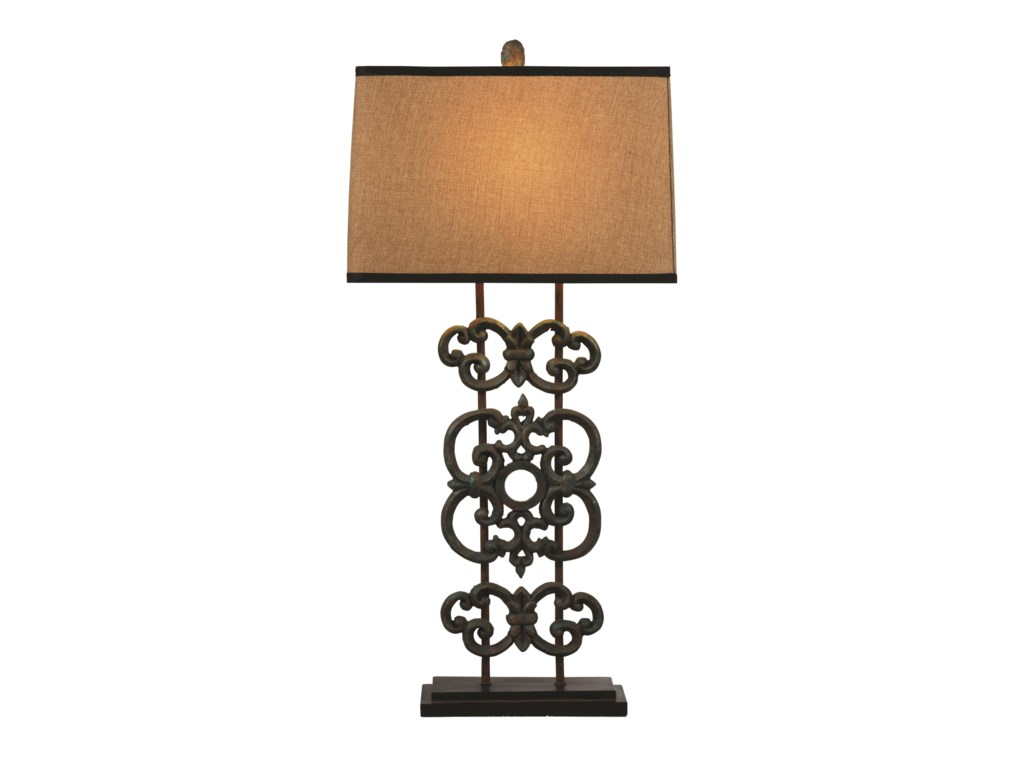 Bassett Mirror Belgian LuxeCapistrano Table Lamp