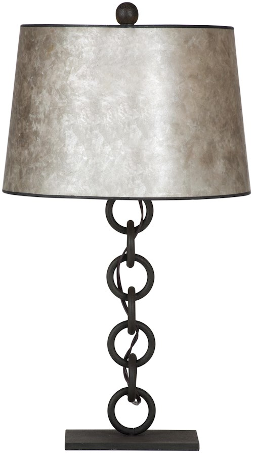 Bassett Mirror Belgian Luxe Reeves Table Lamp
