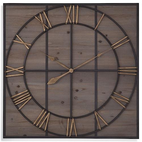 Bassett Mirror Belgian Luxe Eldridge Wall Clock