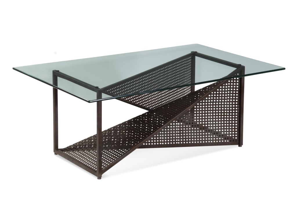 Bassett Mirror Belgian LuxeBolton Rectangle Cocktail Table