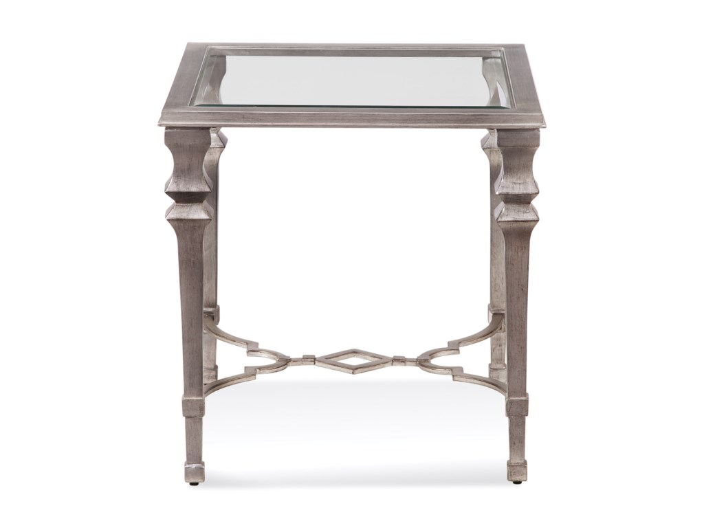 Bassett Mirror Hollywood GlamSylvia Square End Table