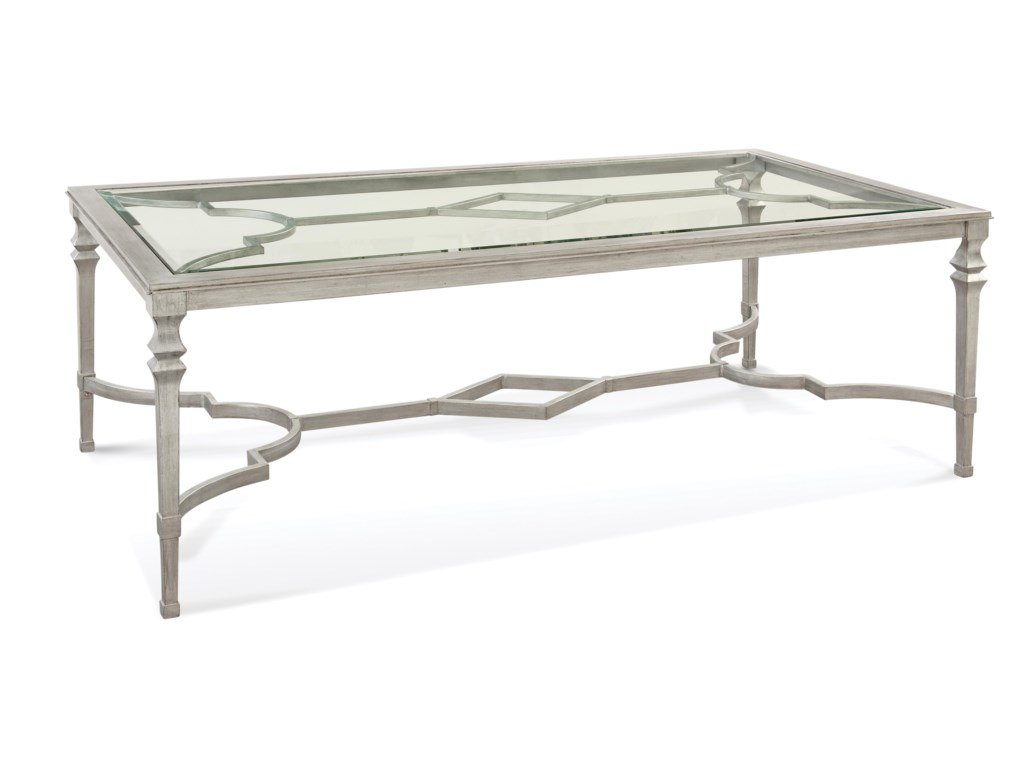 Bassett Mirror Hollywood GlamSylvia Dining Table