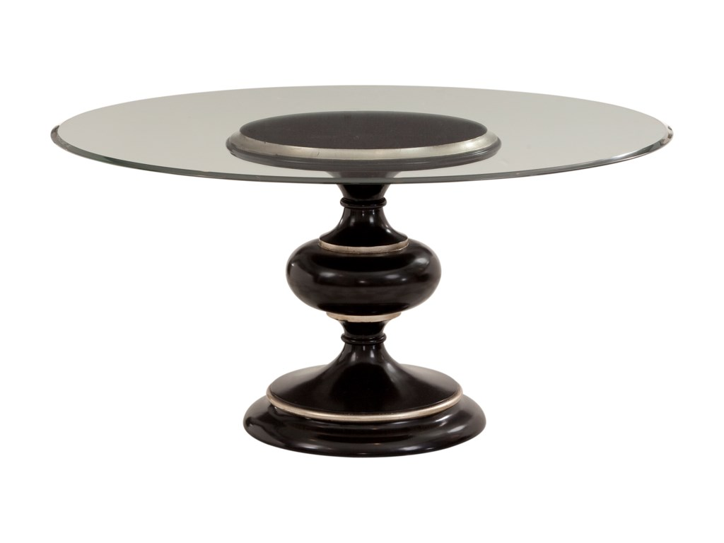 Bassett Mirror Hollywood GlamCovington Round Dining Table