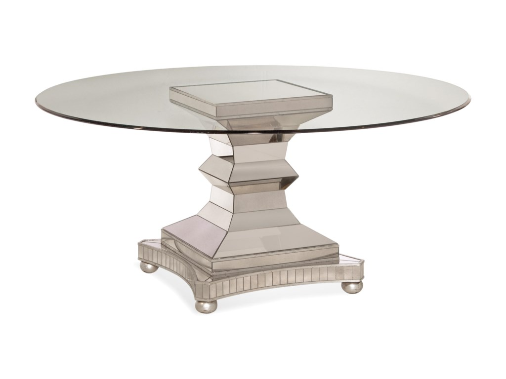 Bassett Mirror Hollywood GlamMoiselle Dining Table