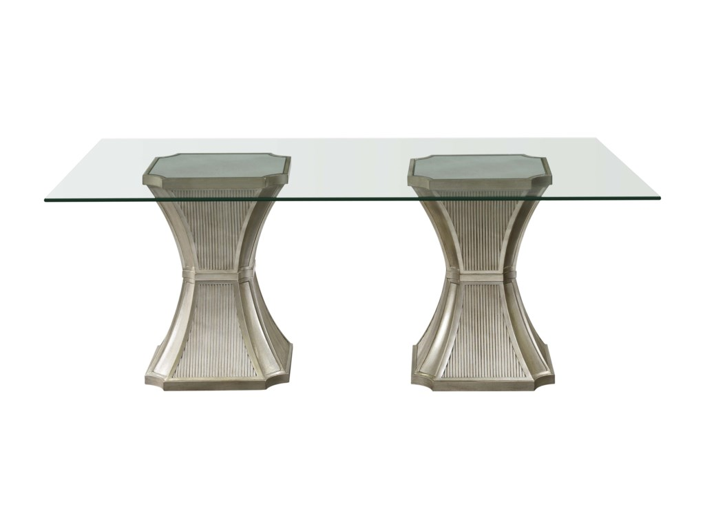 Bassett Mirror Hollywood GlamVanesta Dining Table