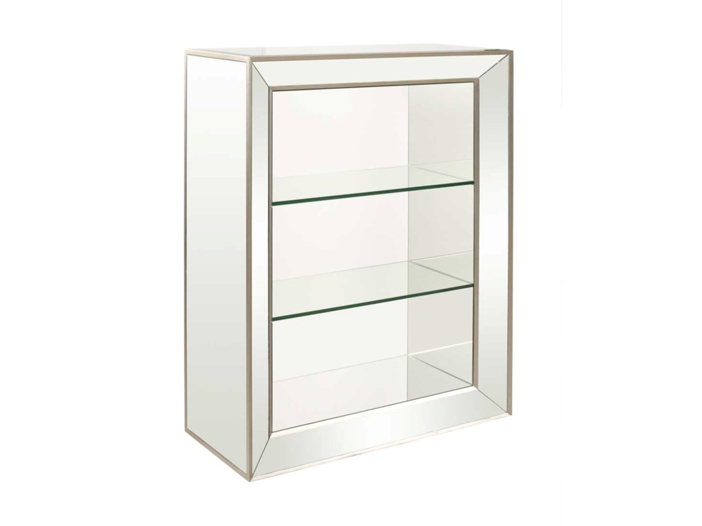 Bassett Mirror Hollywood GlamMinetta Bookcase