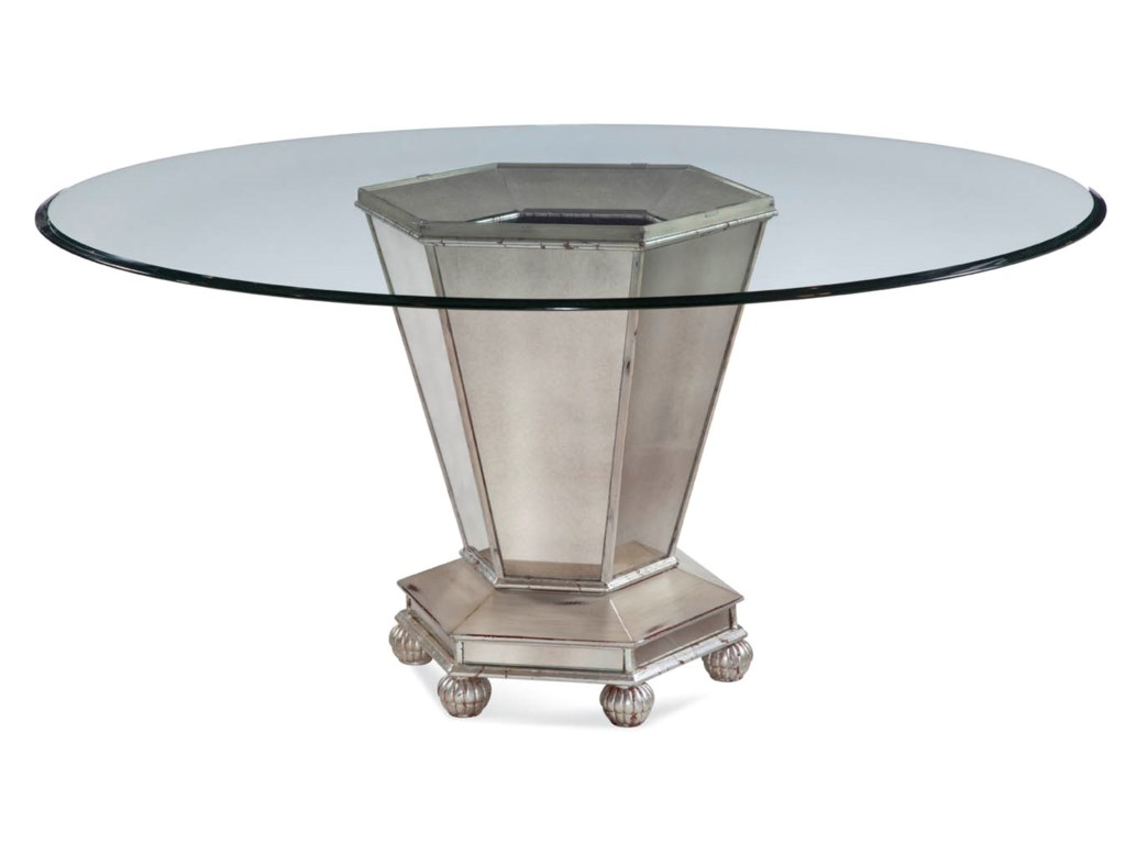 Bassett Mirror Hollywood GlamReflections Dining Table