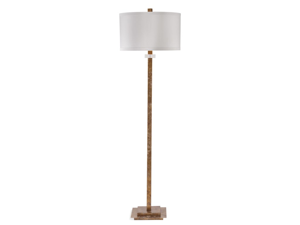 Bassett Mirror Hollywood GlamLoren Floor Lamp