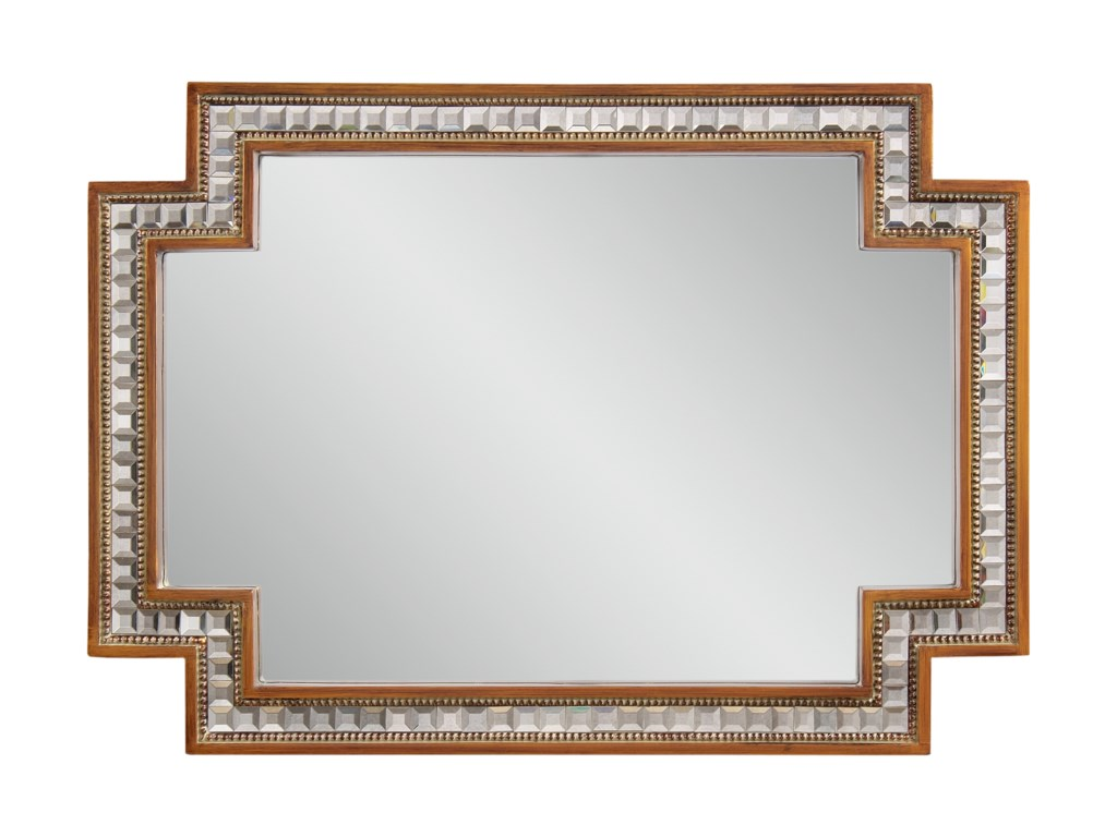 Bassett Mirror Hollywood GlamGaribaldi Wall Mirror