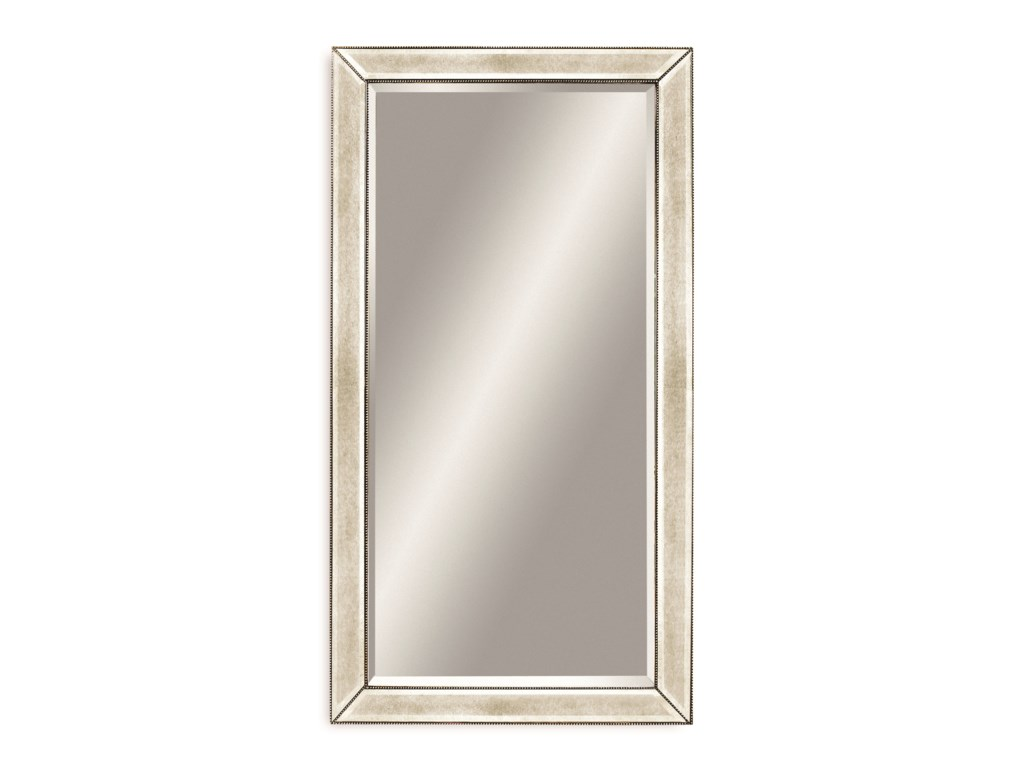 Bassett Mirror Hollywood GlamBeaded Leaner Mirror