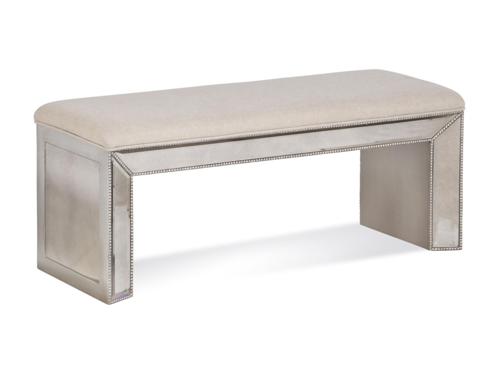 Bassett Mirror Hollywood GlamMurano Bench