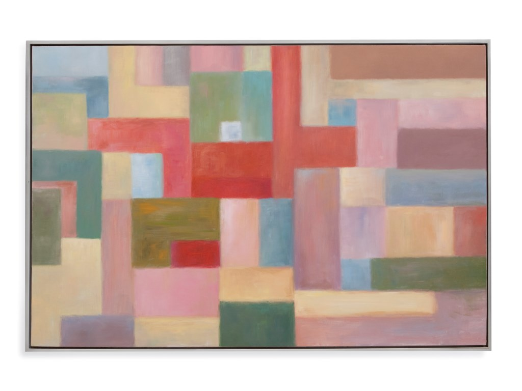 Bassett Mirror Old WorldPastel Blocks