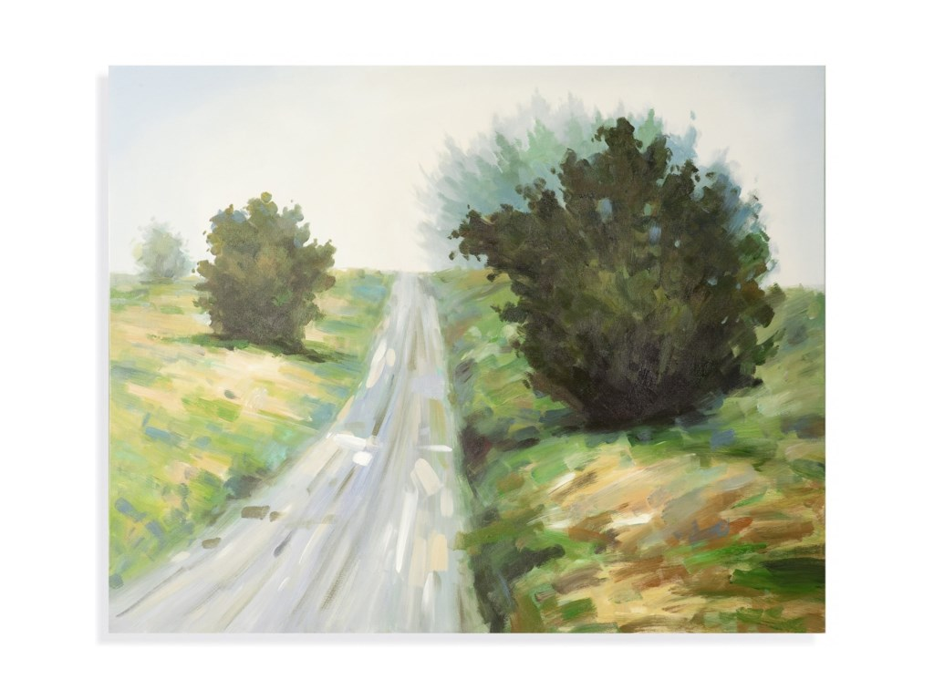 Bassett Mirror Old WorldCountry Road Wall Art