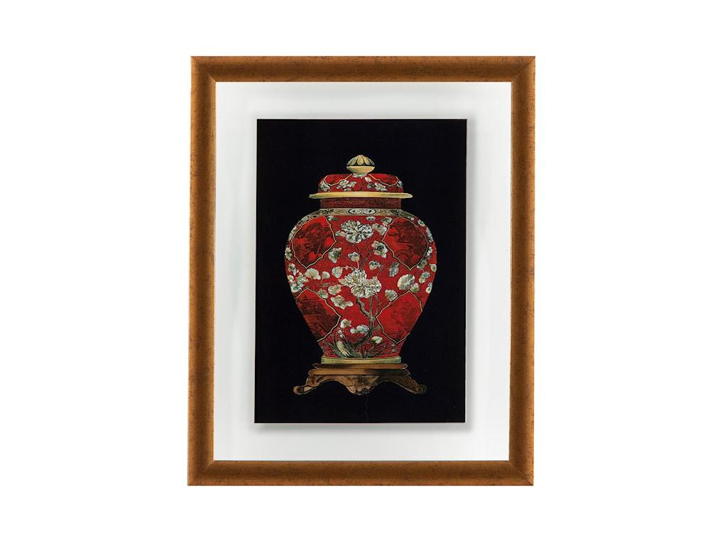 Bassett Mirror Old WorldRed Porcelain Vase II