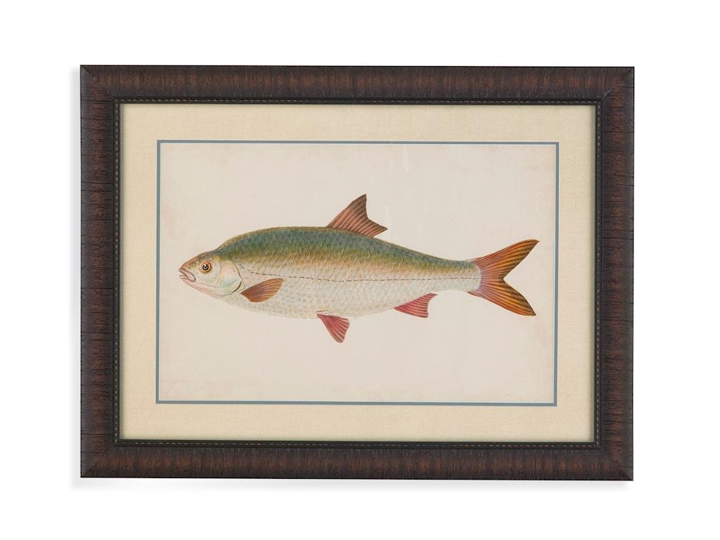 Bassett Mirror Old WorldDonovan Antique Fish II