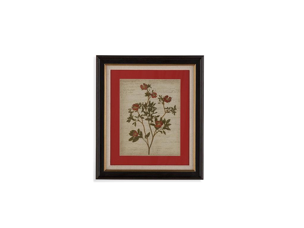 Bassett Mirror Old WorldRomantic Pressed Flowers I