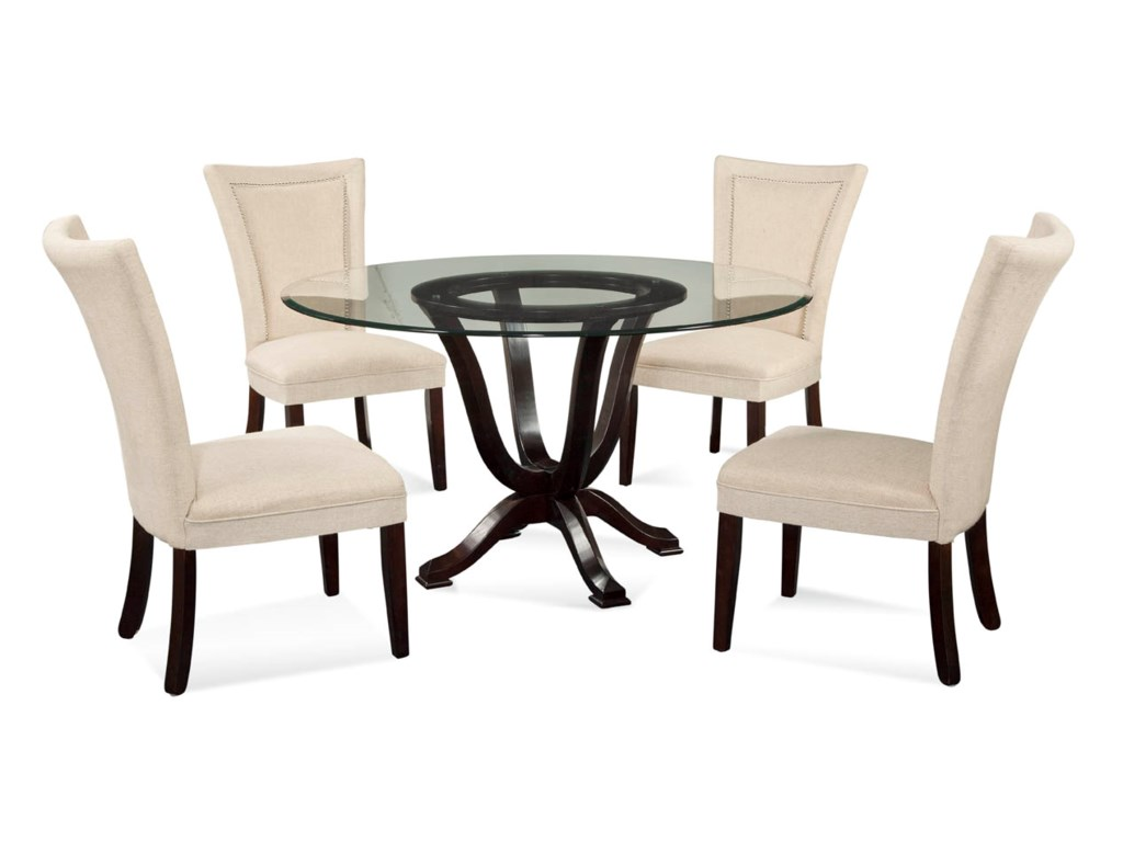Bassett Mirror Old WorldSerenity Casual Dining Set
