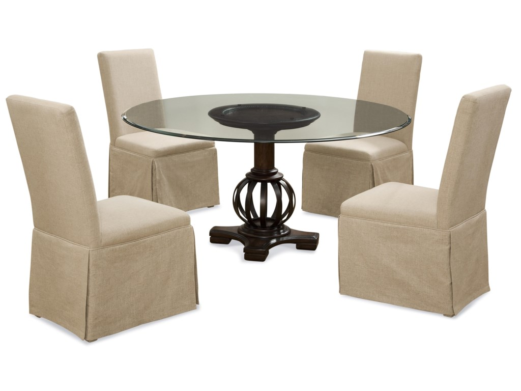 Bassett Mirror Old WorldGrenadine Casual Dining Set