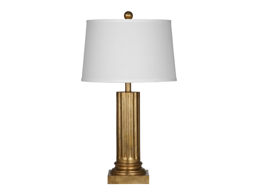 Bassett Mirror Old WorldPierce Gold Table Lamp