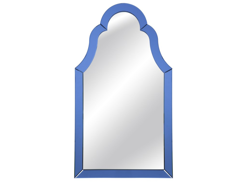 Bassett Mirror Old WorldCobalt Blue Wall Mirror