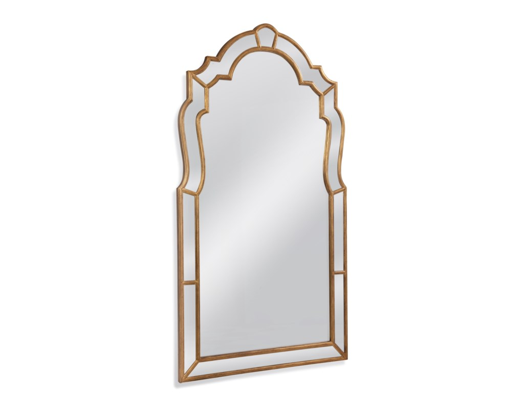 Bassett Mirror Old WorldHazel Leaner Mirror