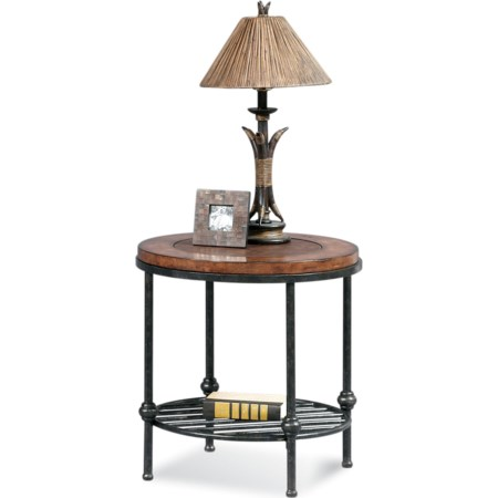Bentley Round End Table