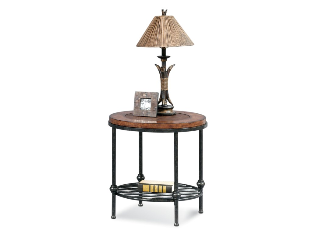Bassett Mirror Old WorldBentley Round End Table