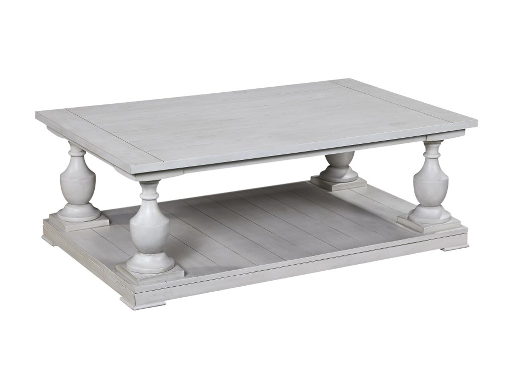 Bassett Mirror Pan PacificHolden Rectangle Cocktail Table