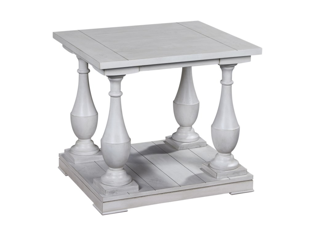 Bassett Mirror Pan PacificHolden Rectangle End Table