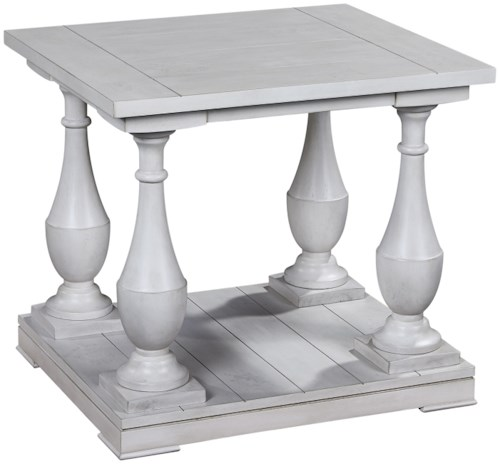 Bassett Mirror Pan Pacific Holden Rectangle End Table