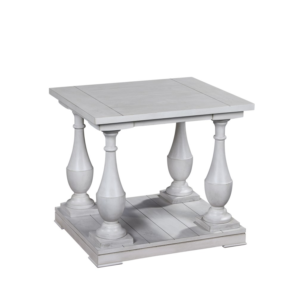 Charmant Bassett Mirror Pan PacificHolden Rectangle End Table