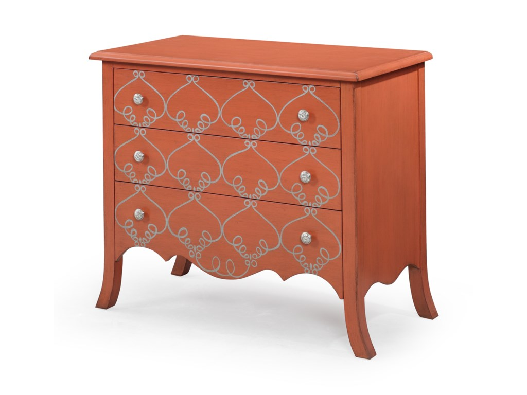 Bassett Mirror Pan PacificL'Orangerie Hall Chest