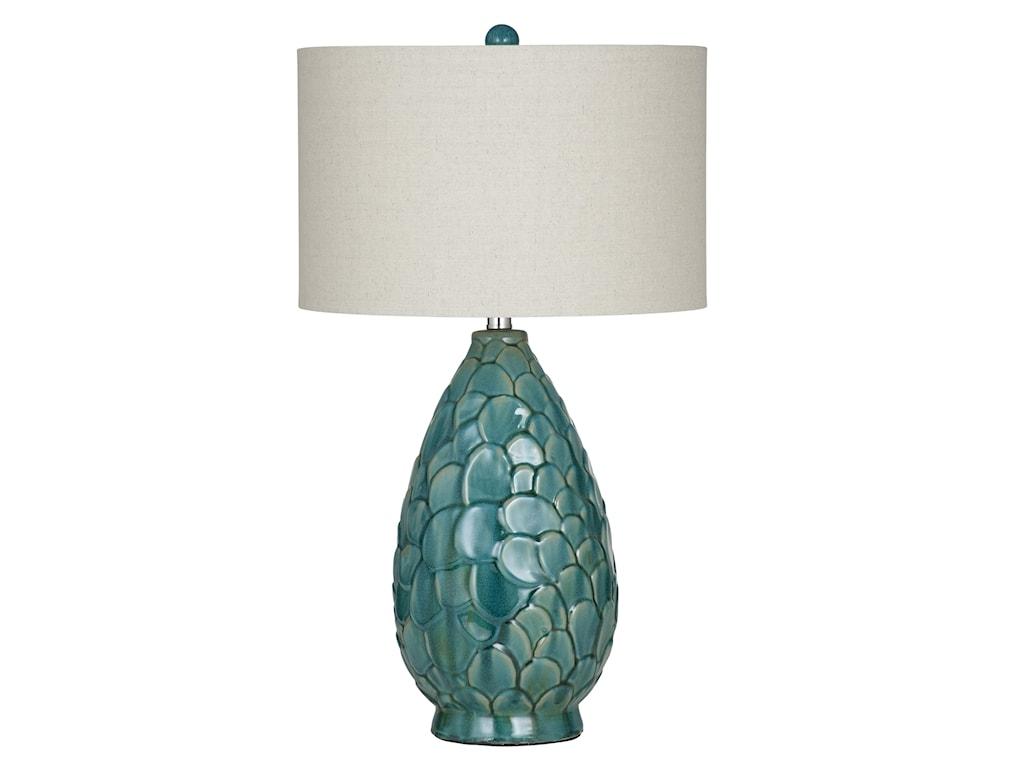 Bassett Mirror Pan PacificSorento Table Lamp