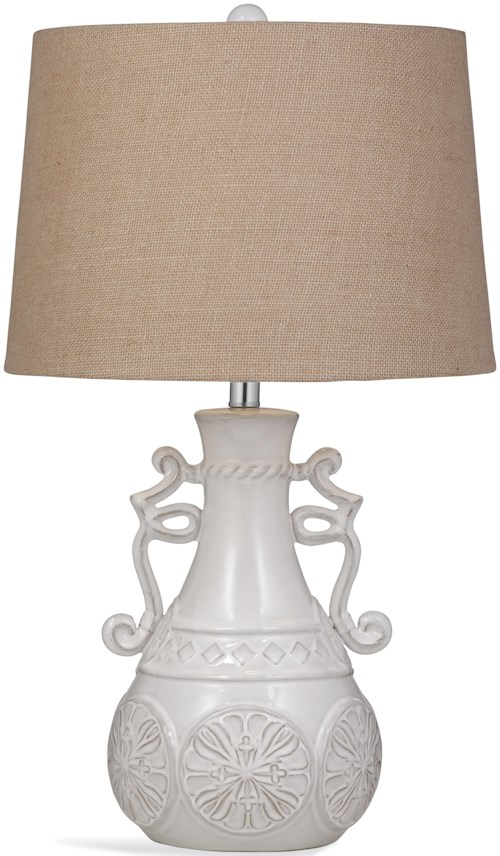 Bassett Mirror Pan Pacific Weston Table Lamp