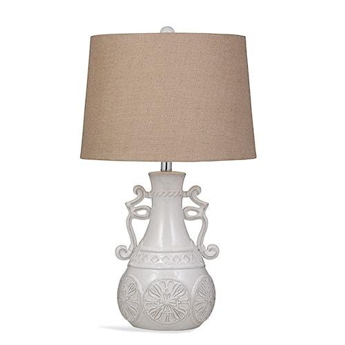 Bassett Mirror Pan Pacific Weston Table Lamp