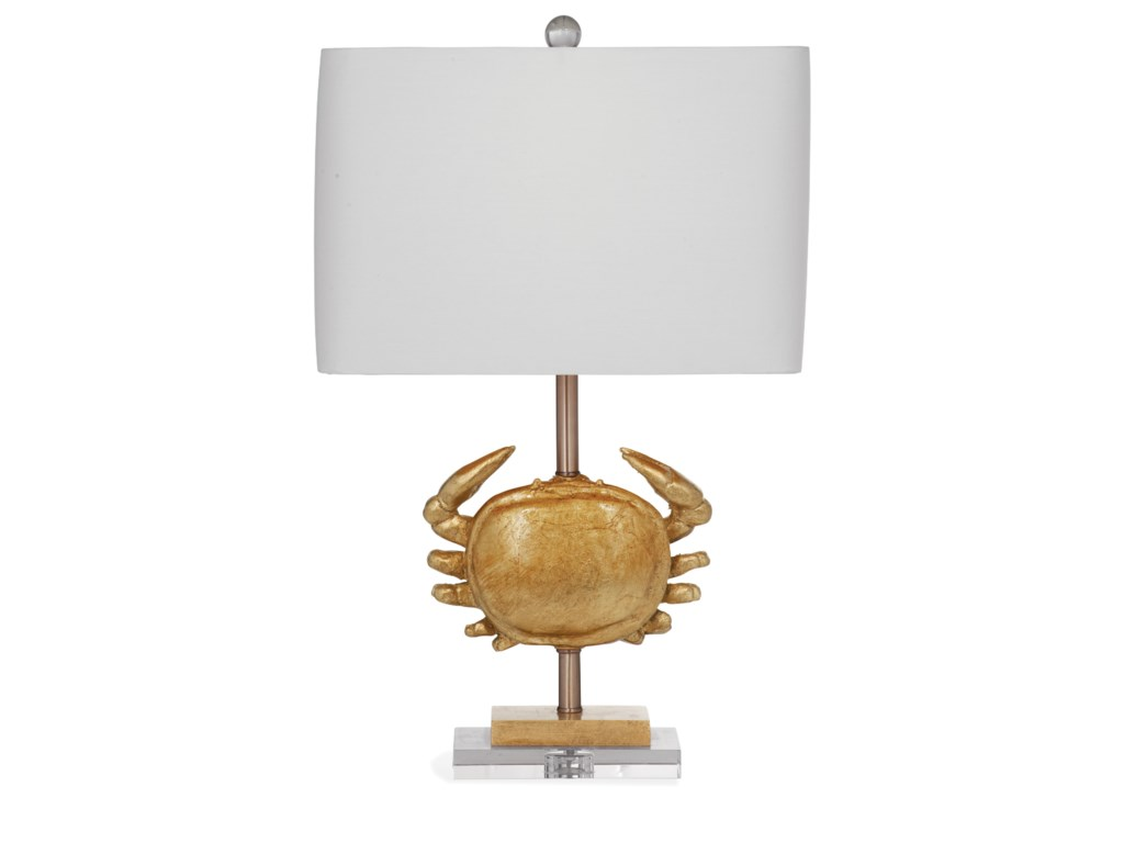Bassett Mirror Pan PacificCrab Table Lamp