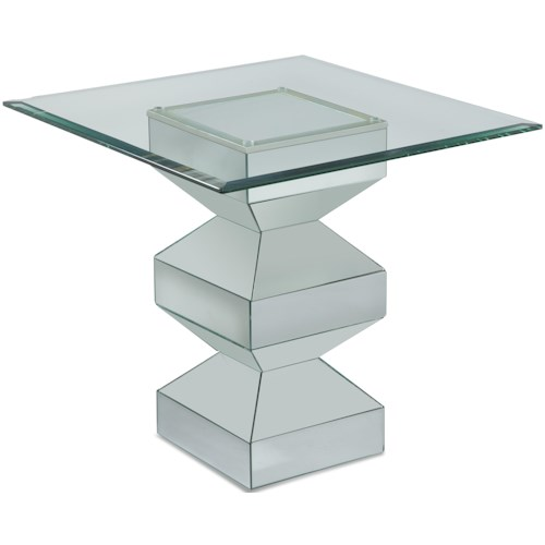Bassett Mirror Paparazzo Rectangular End Table